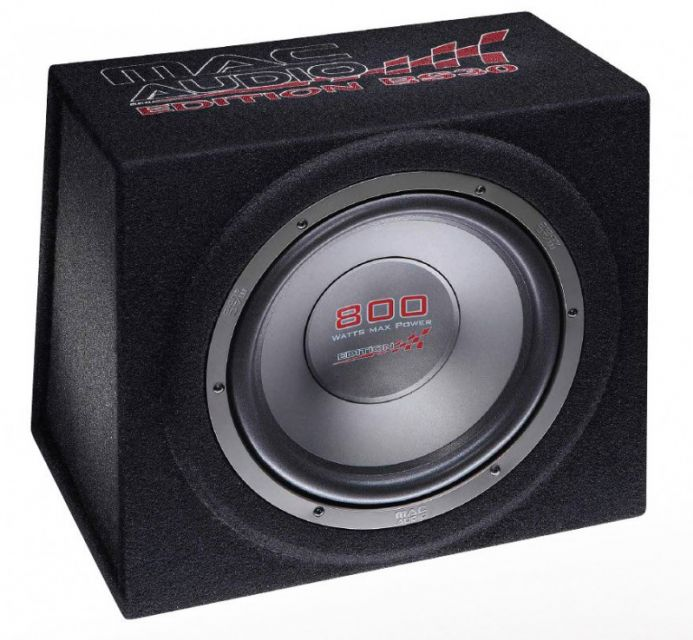 Subwoofer v boxu Mac Audio Edition BS 30 Black