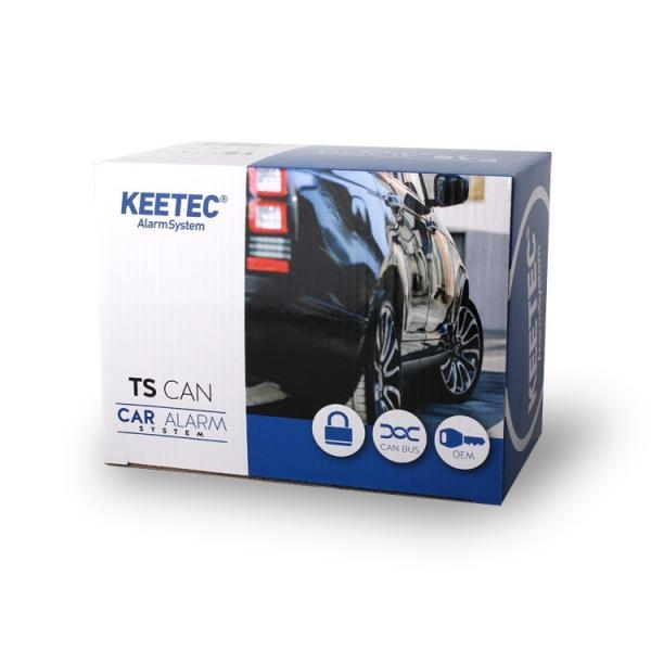 CAN BUS Autoalarm KEETEC TS CAN