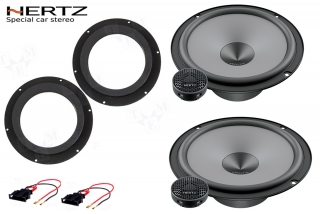 Reproduktory do VW Caddy HERTZ uno
