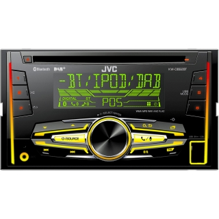 KW DB92BT 2DIN AUTORÁD. S CD/MP3/BT JVC
