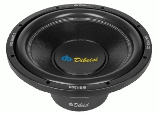 subwoofer DBS-BS1208 2x4Ohm 12""