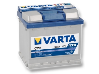 Varta 12V/52Ah  BLUE dynamic