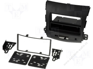 Car radio mount. frame 2Din Mitsubishi Outlander 2007->