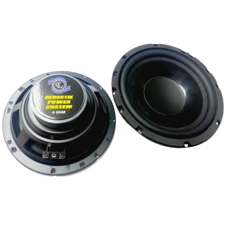 Autoreproduktory woofer 165mm 120W